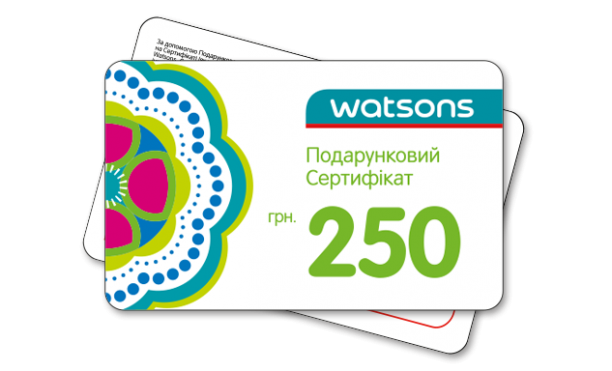 пластиковые карты Watsons