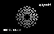 Karta s lisovanou fóliou