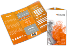 Brochures, application forms