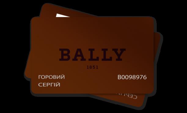 пластикові карти Bally