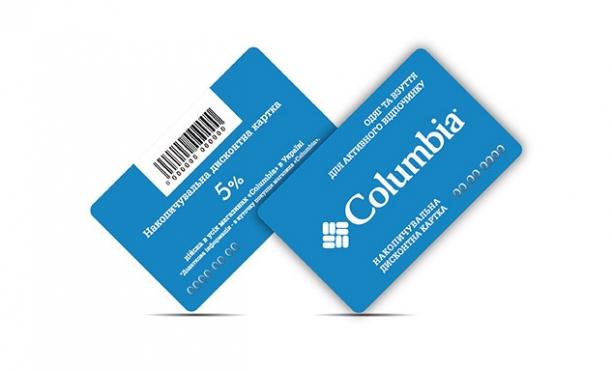 Карта Columbia