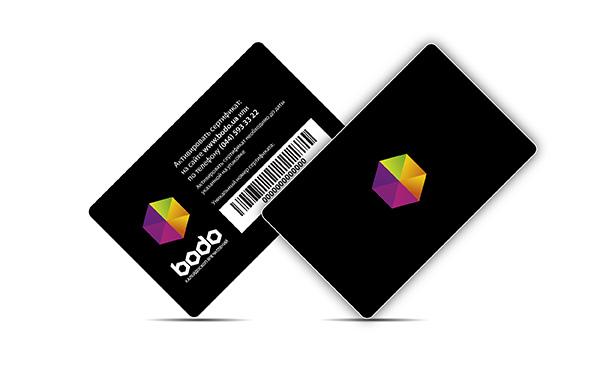 Plastic card Bodo